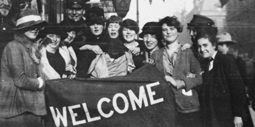 The end of the war meant many happy reunions for Canadians. But after the armistice faded, the country was engulfed by demands for greater equality for women, minorities and labourers.