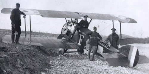 The British-made Sopwith Camel was a deadly tool in the hands of a skilled pilot. Introduced in 1917, it was famed for its agility and its use both in dogfights and for strafing ground troops.